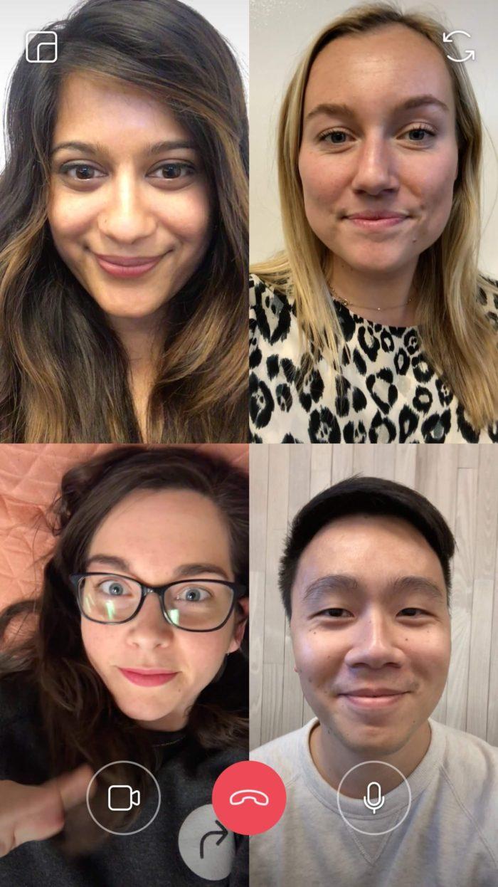 Групповые видеочаты в Инстаграм – Как это работает?